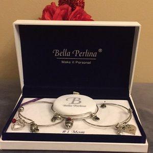 Bella Perlina Bangle/Bracelet Set One Size